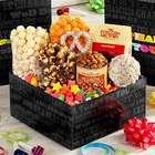 Happy Birthday Say It in Color Popcorn and Snacks Sampler