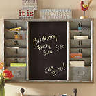 Chalkboard Center Wall Organizer