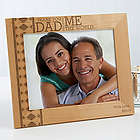 Thank You Dad Personalized Father's Day Wood Picture Frame