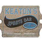 Personalized Vintage Sports Bar Pub Sign