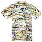 Lake Fishing Sublimated All-Over Print T-Shirt