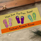 Large Personalized Summer Doormat
