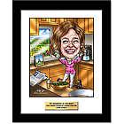 Grandmother Custom Caricature Art Print
