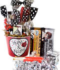 Hugs and Kisses Valentine Candy Gift Pail