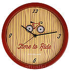 Time to Ride Animated Clock