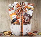Thanksgiving Pumpkin Gift Basket