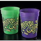 Mardi Gras Plastic Cups
