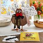 Personalized Turkey on the Table Thanksgiving Centerpiece