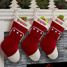 Family Christmas PJs Personalized Stocking