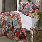Rustic Lodge Quilt Set Full/Queen