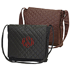 Microfiber Personalized Messenger Bag