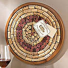 Round Wine Cork Bulletin Board Kit