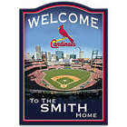 St. Louis Cardinals Personalized Welcome Sign