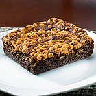 One Dozen Peanut Butter Brownies