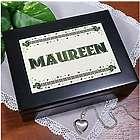 Personalized Celtic Keepsake Box