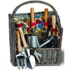 Countryside Garden Tools and Willow Basket