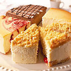 Best of Junior's 4-Flavor Sampler Cheesecake