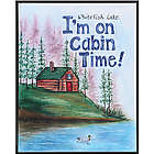 Cabin Time Personalized Sign