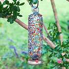Filigree Glass Hummingbird Feeder