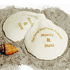 Personalized Seashell Favors