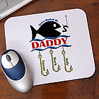 Hooked On You Mouse Pad