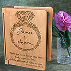 Personalized Everlasting Love Wooden Photo Album