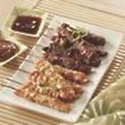 Teriyaki-Style Chicken or Beef Satay
