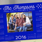 Personalized Calendar and Photo Magnet Frame