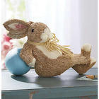 Laid Back Bunny Sculpture