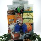 Armchair Athlete Father's Day Sports and Snack Gift Basket