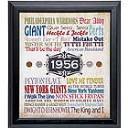 A Year in Time Framed Print