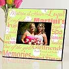 Green Dots Matron of Honor Personalized Picture Frame