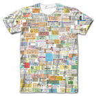 Concert Ticket Stubs Sublimated Tee