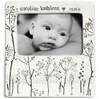 Personalized Baby's Breath Handcrafted Ceramic Photo Frame