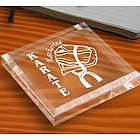 Personalized Karate & Martial Arts Keepsake & Paperweight