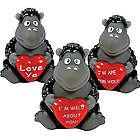 One Dozen Mini Gorillas with Heart