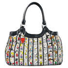 Peanuts Handbag with Character Art and Snoopy Charm