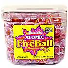Atomic Fireballs Candy Tub