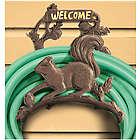 Cast Iron Squirrel Hose Reel