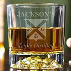 Hampton Personalized Whiskey Tumbler