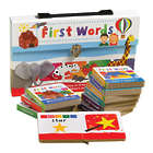 Bright Starts First Words Baby Book Gift Set