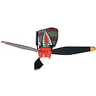 Tigershark Warbird Airplane Ceiling Fan
