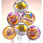 Half Dozen Mylar Balloon Air-Rangement