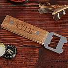 Well-Built Custom Wood Beer Bottle Opener