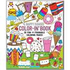 Happy Snacks Color-In Book