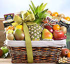 Paradise Tropical Fruit, Nut and Cheese Collection Gift Basket