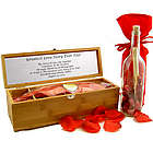 Greatest Love Story Ever Told Personalized Message in a Bottle