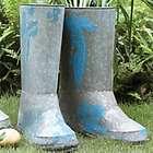 Single Boot Steel Planter