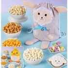 Popcorn and Sweets Drawstring Tote
