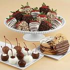 Cookies Cherries & Fancy Chocolate Strawberries